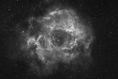 Rosette Nebula (AstroVistas) Tags: canon600da nottingham backyard emissionnebula evostar80ed evostar deepskystacker astrophotography astronomikhafilter deepsky exposurestacking eq6pro eqmod iso1600 hydrogenalpha 2016 narrowband