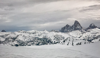 View of Tetons from Grand Targhee_Panorama3