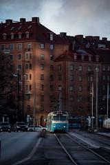 Let the light in... (Pasi Mammela) Tags: lettherebelight flickrfriday tram göteborg gothenburg sweden sverige spårvagn trafik