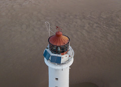 high on a perch (paul hitchmough photography 2) Tags: lighthouse perchrock newbrighton seaside beach aerialphotography dronephotography mavicpro wirral