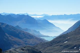 View towards Lago Bianco