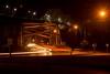 DSC_6296 (Copy) (pandjt) Tags: roadtrip unitedstates usa michigan saultstemariemichigan saultstemarie westportageavenuebridge powercanal steelarchbridge bridge nightphotography