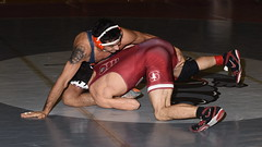 Isaiah Locsin vs Dylan Thurston 4348 (Chris Hunkeler) Tags: isaiahlocsin stanford dylanthurston universityofillinois bout240 141 roadrunneropen amateur college wrestling