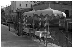 it's time for sunny day (marcobertarelli) Tags: venice venezia monochrome monochromatic street scene scorcio bw vintage sunny day