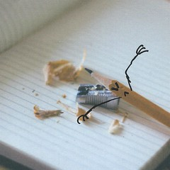 Penny Pencil (LittleFears) Tags: fiction flashfiction writing shortstory humour humor funny art illustration doodle