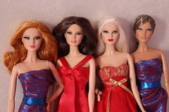 The Louboutins (MJolinda) Tags: louboutin barbie basics model muse red carpet herve leger
