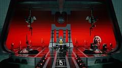 Snoke's Throne Room Part 2 (Erik Petnehazi) Tags: 3d custom lego star wars characters minifigures episode 8 viii last jedi tlj supreme leader snoke kylo ren ben solo rey praetorian guards throne room moc