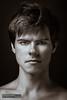 Michael II (FrameChaser) Tags: male portrait nude studio bw handsome man boy twink fineart german berlin