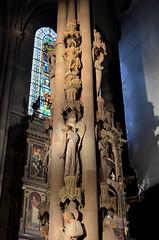 Pillar Of Angels [Strasbourg - 9 December 2017] (Doc. Ing.) Tags: 2017 france alsace grandest basrhin strasbourg upperrhine pillarofangels angels lastjudgement masonry sculpture stone notredamedestrasbourg strasbourgcathedral cathedral church cathedralofourladyofstrasbourg strasbourgminster gothic romanesque