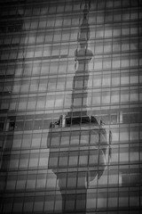 Re flect ions (A Great Capture) Tags: downtown city urban skyscraper officebuilding monochrome windows tower cntower reflection mirror glass outdoor outdoors building cityscape urbanscape eos digital dslr lens canon 70d lights agreatcapture agc wwwagreatcapturecom adjm ash2276 ashleylduffus ald mobilejay jamesmitchell toronto on ontario canada canadian photographer northamerica torontoexplore winter l'hiver 2018 streetphotography streetscape photography streetphoto street calle