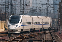 China Railway High-Speed (westrail) Tags: nikon nikkor d300 dslr f28 digicam digitalkamera afs70200 vri lens objektiv fotograf photographer andreasberdan omot youmademyday crh5 chinarailwayhighspeed peking beijing beijingwestrailwaystation china asien asia train zug railway bahn crh