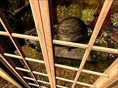 The abandoned Erebos Planetarium (Tevor Z) Tags: erebos planetarium abandoned galaxy globe secondlife virtualreality
