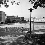 1972 view of University Plaza.