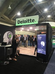 Deloitte Mobile Expo Display