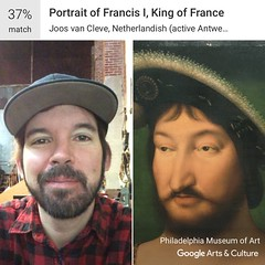 Francis I (RobotSkirts) Tags: eliot eliotphillips francis painting france machinelearning