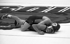 BRO-STA 149 2018-01-13 DSC_8180 bw (bix02138) Tags: brownuniversity brownbears stanforduniversity stanfordcardinal pizzitolasportscenter pizzitolasportscenterbrownuniversity providenceri january13 2018 wrestling sports intercollegiateathletics athletes jocks ©2018lewisbrianday 149pounds 149 zachkrause jakebarry