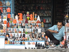 Bussiness goes down during change in government policies especially tax regime. (Vishal Bhargav) Tags: gst tax bussiness shopkeeper india governmentpolicies banaras varanasi