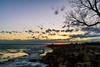 _C3N5254-HDR (Clark Engbrecht) Tags: cheneylake kansas winter ice lakes nature outdoors sunset