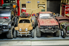 How Big Is It Really, Sizr Comparison of Scale RC Rigs-2 (Strangely Different) Tags: rceveryday rcengineering tinytrucks scaler scalerc scalemodel hobby rccar size comparision rc4wd tflracing tamiya axial crawler scalecrawler