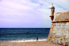 Forte de Santiago - Sesimbra - Portogallo (lucy PA) Tags: castello portogallo oceano atlantico sesimbra castle fortress portugal atlantic ocean sea water sky