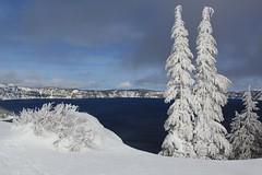 Crater Lake National Park, Oregon, USA (Jolita Kievišienė) Tags: crater lake national park oregon usa united states america nature winter snow