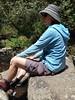 Jo resting on a rock in the Erskine river (ajft) Tags: joduke aus australia benwerrin erskineriver geo:lat=3851138889 geo:lon=14393472222 geo:zip=3232 geotagged lorne victoria