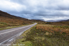 Put your foot down - North Coast 500 (Neil Sutton Photography) Tags: a837 canon landscape lochassynt n northcoast500 scotland scottishhighlands road