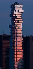 59 Leonard Street (dansshots) Tags: architectureofnewyork modernarchitecture architecture nyc newyorkcity newyork downtownnyc downtown dansshots nikon nikond750 sigma300800mm sunset sunsetcolors nycsunset iloveny 59leonardstreet jenga jengatower jengabuilding