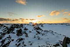 Today's sunset (Kjartan Guðmundur) Tags: iceland sunset lava snow sky clouds canoneos5dmarkiv sigma14mmf18art kjartanguðmundur arctic photoguide tourguide