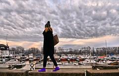 clouds (poludziber1) Tags: city colorful cityscape color colorfull capital clouds people street streetphotography skyline sky belgrado beograd belgrade serbia srbija