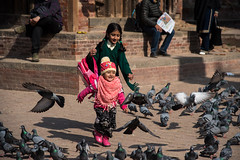 Catch 'em all (rfabregat) Tags: kathmandu nepal nepalese kid kids girls durbar square street streetphotography travel travelphotography nikon nikond750 nikkor nikkorlenses
