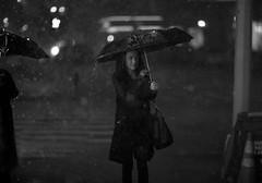 Manhattan drops 2016 (Stefano-Bosso) Tags: street bw bnw stefanobosso canon ny nys newyork umbrella rain love noiretblanc blackandwhitephotos monochrome mono streetphotography