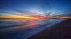 Belo Horizonte (SpectrumLight) Tags: landscape waterscape seascape sea seaside coastline england brighton sussex beach shingles sunset light horizon bluehour blue wave sonya7ii sony ilce7m2 a7ii fe2470mmf4zaoss flickr winter pier westpier