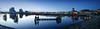 Cardiff Bay at dusk (Dave_Davies) Tags: cardiff wales bay dusk panorama st davids hotel pierhead building national assembly sennedd millenium centre mermaid quay