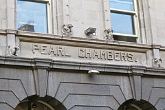 Pearl Chambers, Leeds, UK (Robby Virus) Tags: leeds england uk unitedkingdom britain greatbritain pearl chambers assurance company limited apartments headrow william bakewell architecture building gothic revival