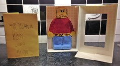 Luka-Romillio cake Jan 2018 (GoodPlay2) Tags: lego cake gift present card friend friendship kindness