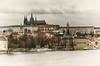 Praha, Czechia (Lex Kravetski) Tags: czechia hrad katedrálasvatéhovíta praha pražskýhrad vita church oldphoto river