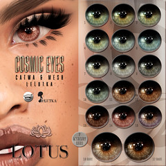 Cosmic Eyes @ Pocket Gacha (LOTUS. & Ugly Duckling) Tags: sl second life gacha gatcha pocket event hud free lag eyes eye lelutka catwa applier appliers mesh resizer included rare prize win new cheap transfer lotus