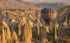 610216976 (siren.klaus) Tags: turkey hot outdoor aerial aeronautical sunrise rock mountains holiday clouds transport ballon colorful aviation transportation background flight tur