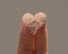 In the kitchen (Dragan*) Tags: sugar heart sweet white finger two couple closeup macro kitchen indoor concept abstract