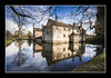 Still waters (Simon Heywood) Tags: lee filters big stopper nd national trust baddesley clinton worcestershire moat warwick manor house nikon d500 1020 sigma long exposure