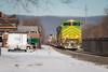 Marysville Is Glowing (marko138) Tags: 20k bluemountainoutfitters emd illinoisterminal marysville ns1072 norfolksouthern pitl pennsylvania pittsburghline sd70ace glowworm heritageunit intermodal locomotive mainline railfan railroad railroadphotography snow train winter