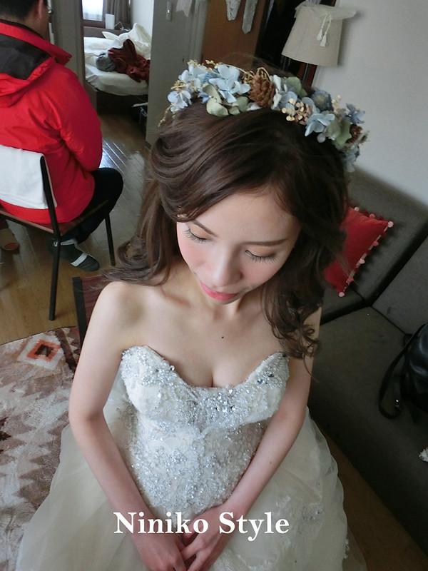 北海道,自助婚紗,新娘,下雪