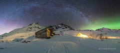 Footsteps to the past (Traylor Photography) Tags: arch goldcordroad historic palmer auroraborealis stars mountains milkyway norhternlights hatcherspass lightsource fishhookwillowroad independencemine alaska unitedstates us