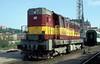 742 090  Brno  30.04.04 (w. + h. brutzer) Tags: brno eisenbahn eisenbahnen train railway diesellok tschechien webru analog nikon 742 slowakei zug cd zsr