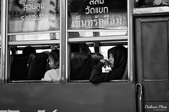 Thoughts on the long journey ahead (gunman47) Tags: 2017 asia asian b bw bangkok christmas december east mono monochrome sepia siam south thai thailand w air black bus candid open passenger passengers photography street thought thoughts transport white krungthepmahanakhon