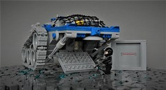 Febrovery - X-rover - loading the cargo (adde51) Tags: adde51 lego moc febrovery 2018 classicspace space ground technique cargo vehicle crate