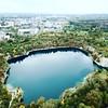 Zakrzówek (siarkowski) Tags: krakow poland europe zakrzówek zakrzowek dronefly mavic mavicpro dji drone dronephotography lake view horizon city nature awesome town urbanjungle emerald colors autumn cracow