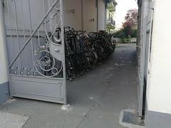 Hamburg (Aleksandr Zykov) Tags: hamburg germany bycicles parking