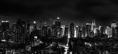 Manhattan Cityscape (King Grecko) Tags: 8thavenue america architecture bw bigapple buildingexterior builtstructure city manhattan ny nyc newyork sky skyscraper travel traveldestinations usa urbanscene blackandwhite building cityscape contrast ink48 kimptonhotel newyorkcity nightlife nightscene skyline texture